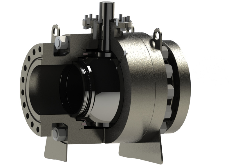 Trunnion Side Entry Ball Valve