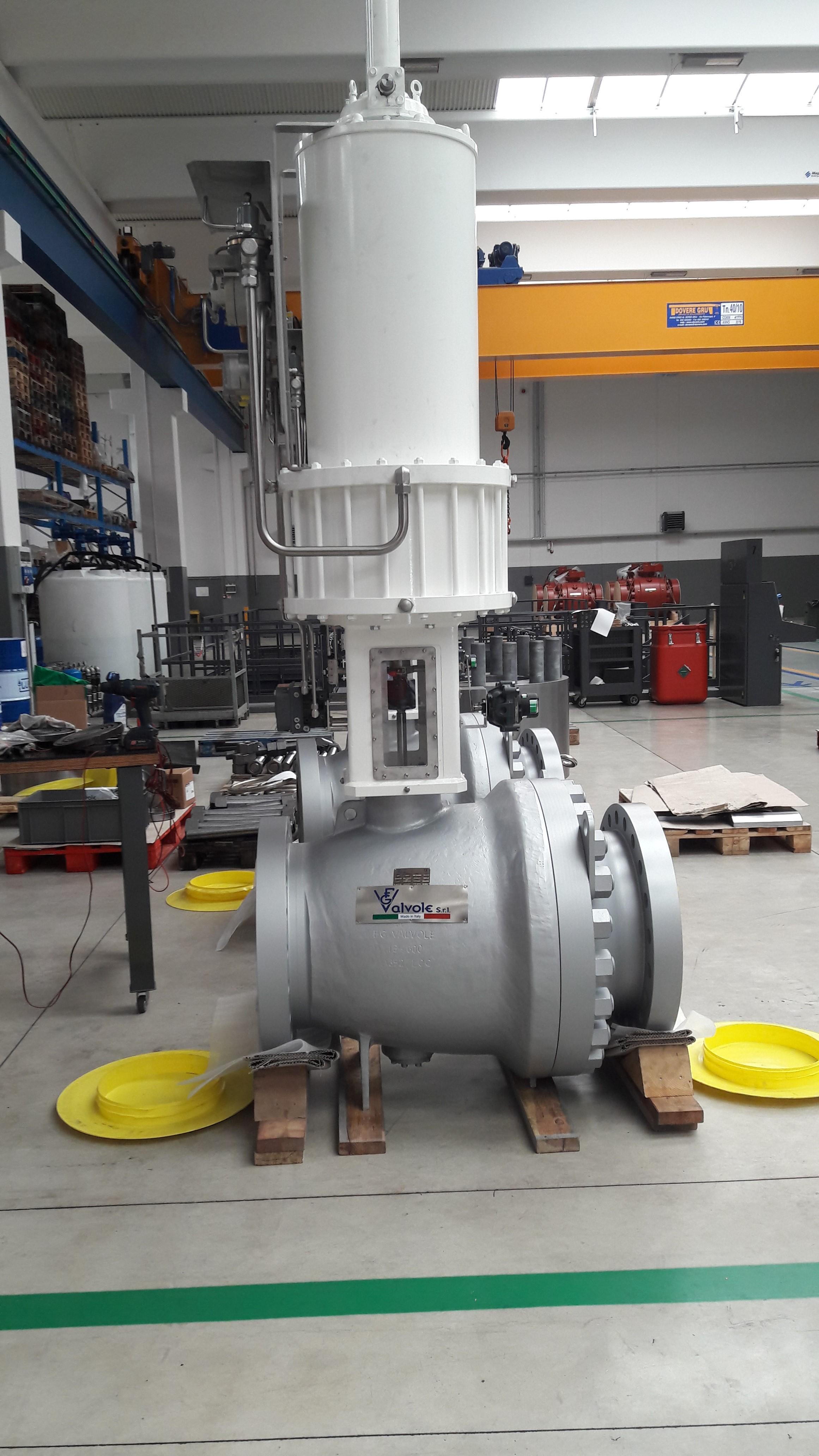 Axial Flow Control Valve 16 600 4