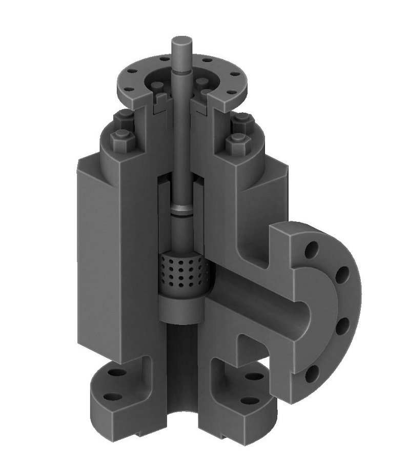 13. Choke valve